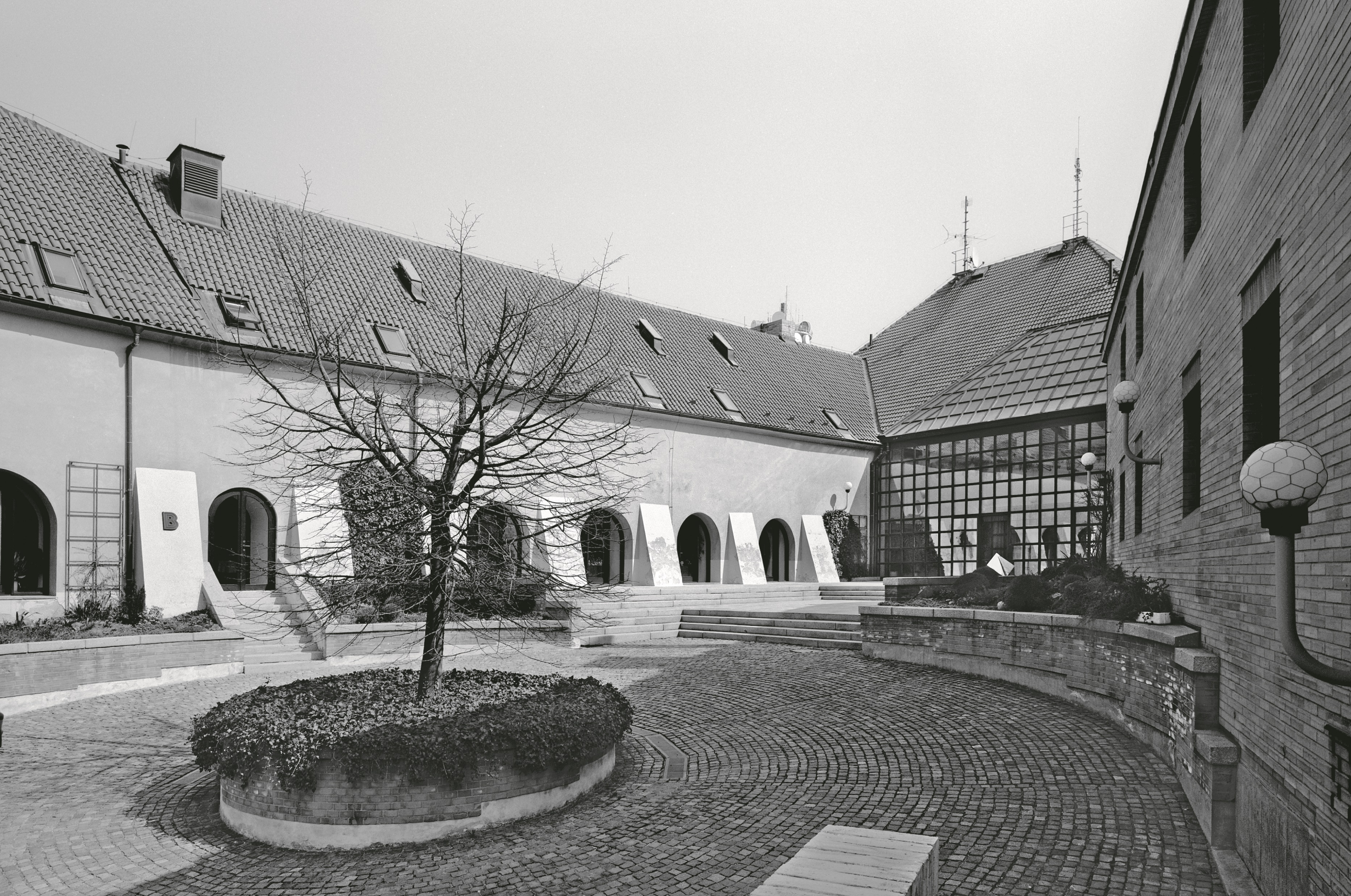 Dvůr usedlosti Spiritka, Praha 6