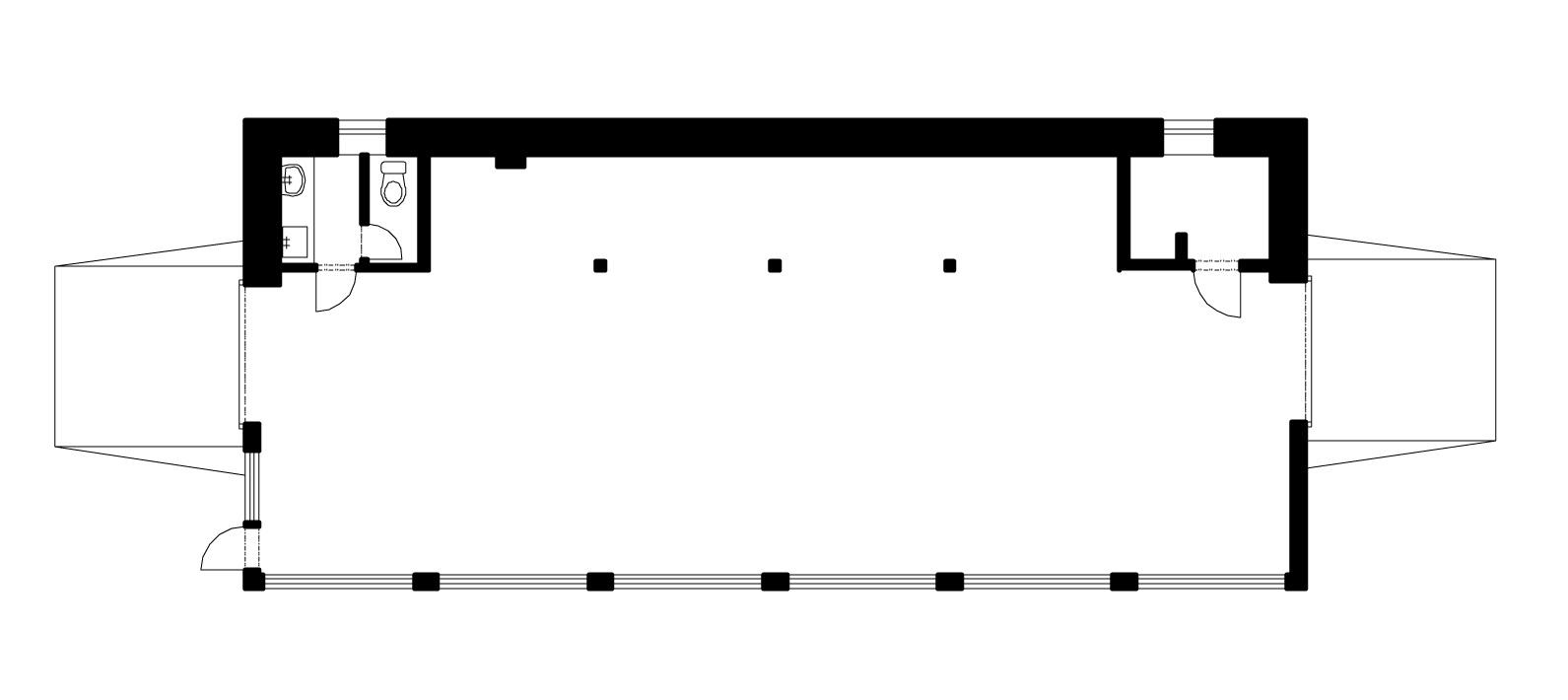 Mukařov, Žernovka 73, truhlárna, přízemí